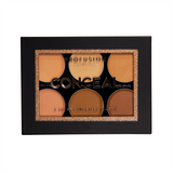 6 Shade Cream Concealer Palette in a lightweight formula for natural coverage.