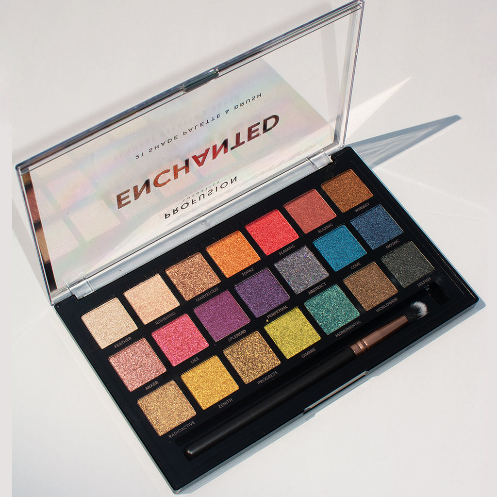 21 shade palette- Enchanted