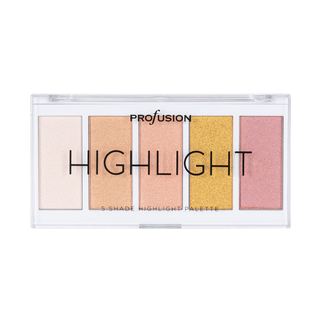 5 Shade Highlight Palette