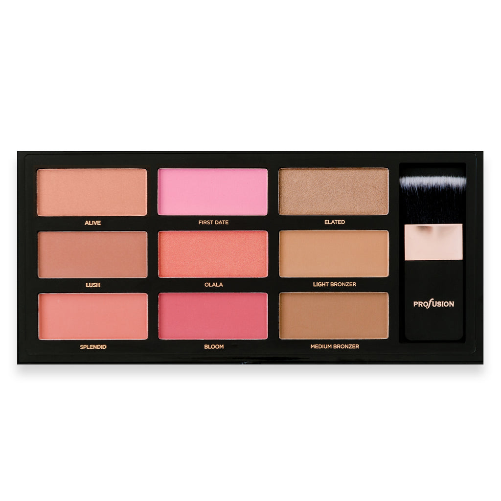 BLUSH & BRONZE | The Artistry Palette - profusion US
