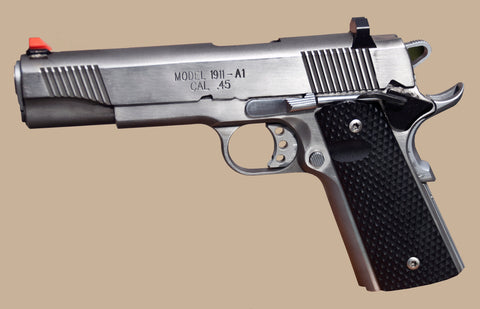 ATDDS - Advantage Tactical Dark Diamond Novak Style 1911 - REPLACES ATPS FOR SPRINGFIELD 1911, ROCK ISLAND ARMORY, REMINGTON R1, METRO ARMS AND ALL OTHER NOVAK STYLE 1911's (engineered for speed and front sight tactical precision)