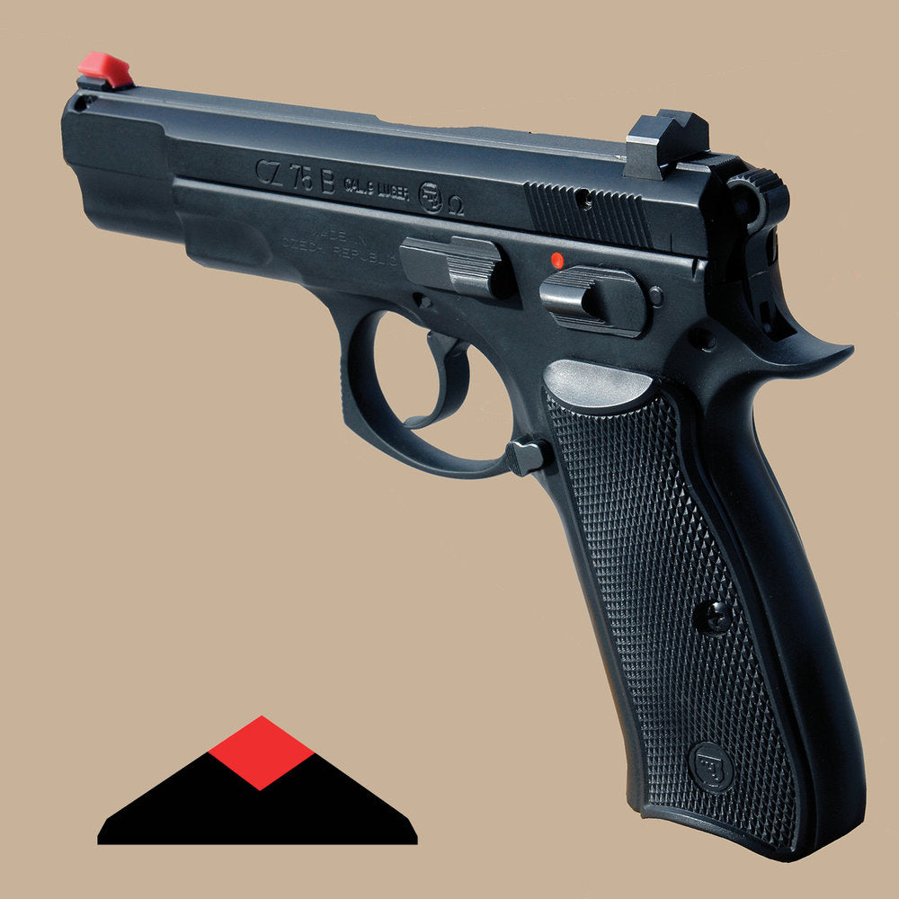 ATDDS CZ 75 SIGHT - 9MM AND 40 CAL. ONLY, MAY NOT WORK WITH 45 ACP) - ALL CZ PISTOL MODELS THAT UTILIZE CZ 75 SIGHTS FOR 9MM AND 40 CAL.