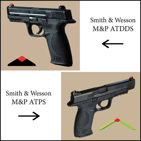 ATDDS - SMITH & WESSON M&P / SD / SHIELD - (ALL MODELS EXCEPT CORE & ADJUSTABLE SIGHT MODELS: (professional installation recommended)