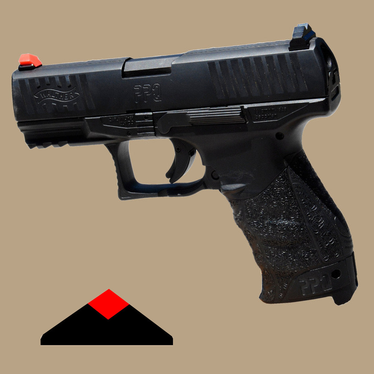 ATDDS - WALTHER PPQ & P99 - DARK DIAMOND SIGHT
