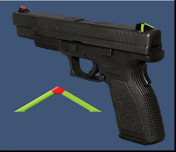 SECOND - ATPS – SPRINGFIELD XD - (ALL MODELS EXCEPT 5.25 & ADJUSTABLE SIGHT MODELS: (professional installation recommended)