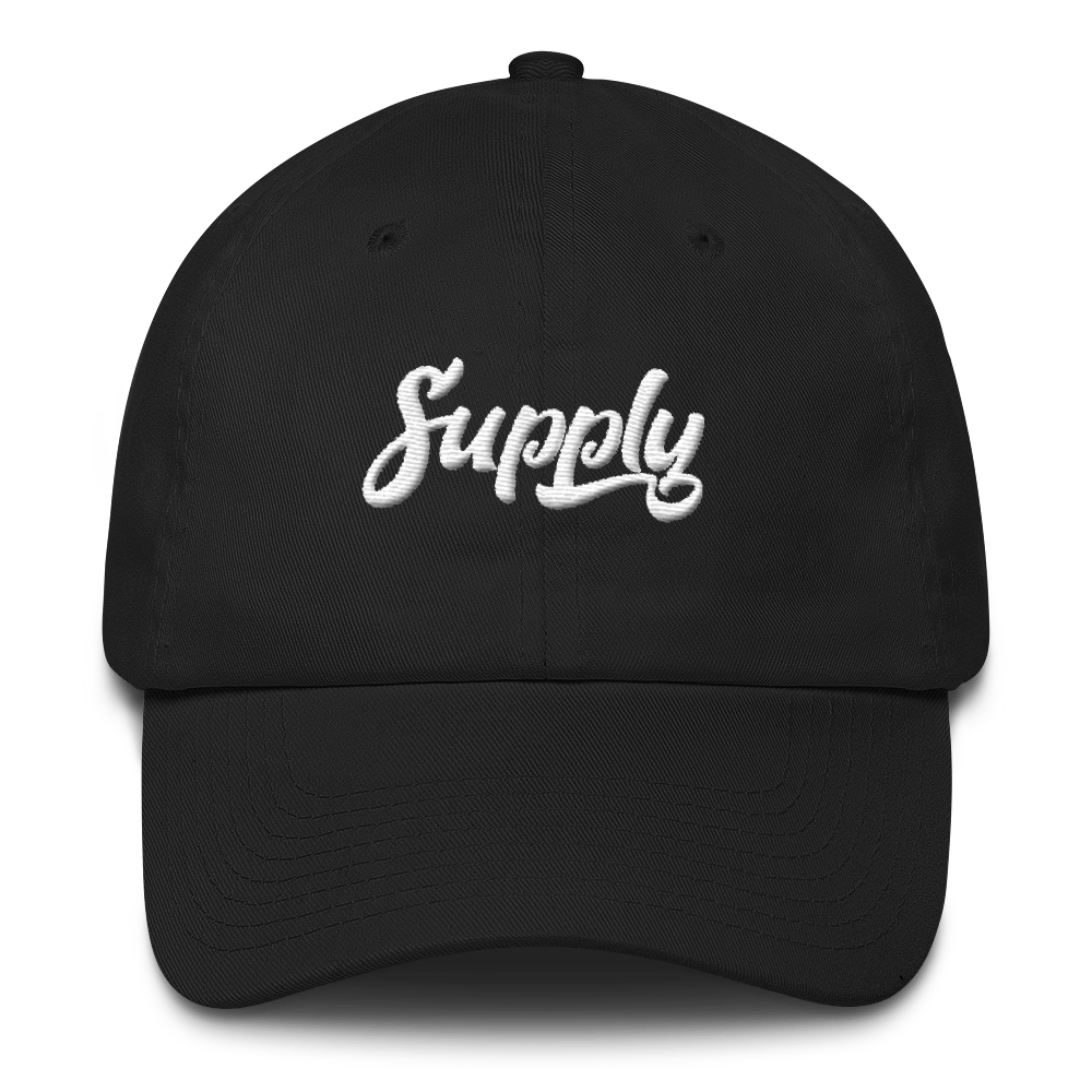 Supply Dad Hat - Black