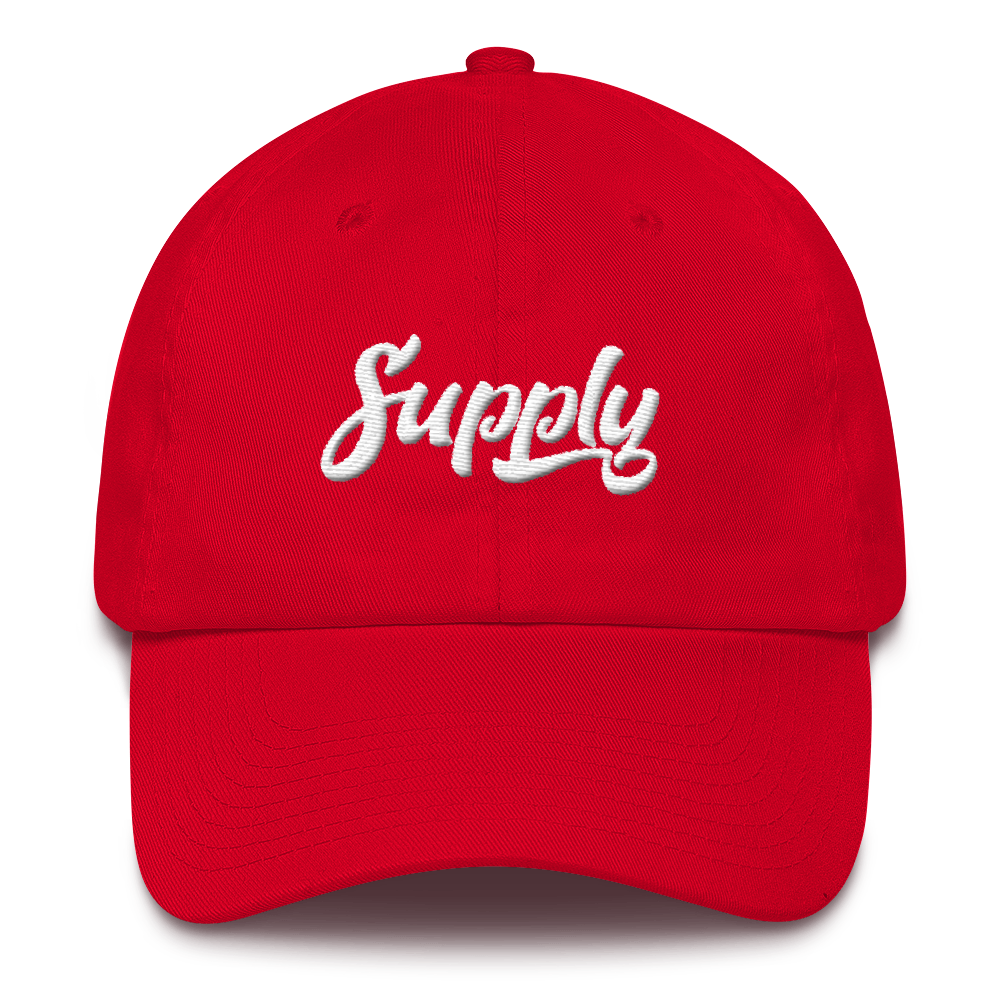 Supply Dad Hat - Red