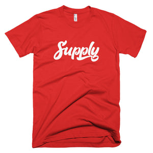 Supply T-Shirt- Red