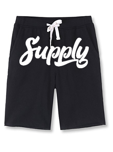 Supply Fleece Shorts - Black