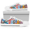 JeepGirl License Plate Tennis Shoes