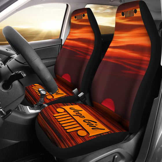 JeepGirl Seat Cover - Sunset Orange