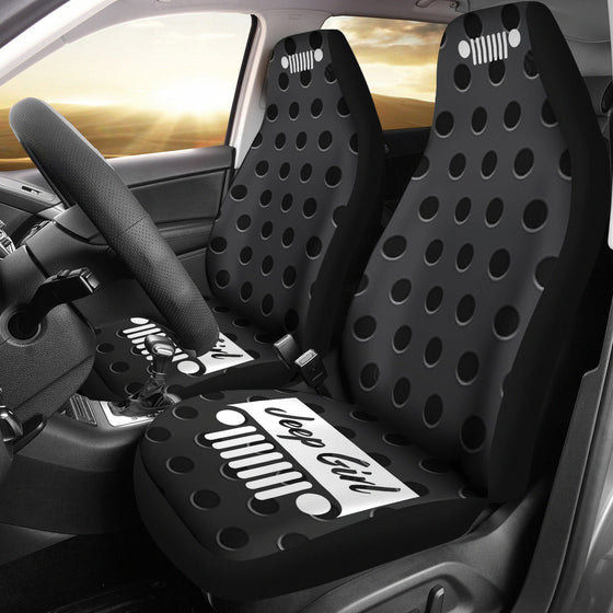 JeepGirl Grill-seatCover MetalHoles
