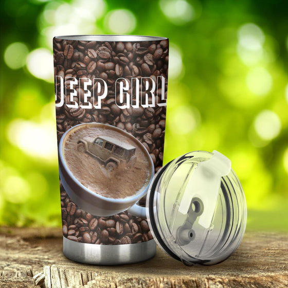 JeepGirl Tumbler Coffee Cup
