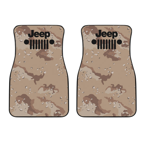 Jeep Mat-Desert Camo-JeepGrill Black