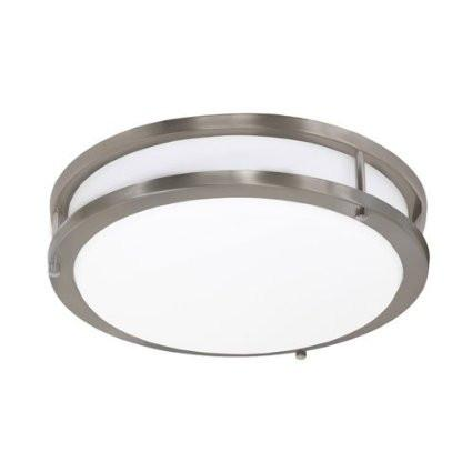 Jesco CM403M-30-BN Contemporary Round Led Ceiling & Ada Wall Mount - JescoStore