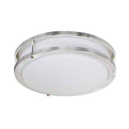 Jesco CM403M-30-CH Contemporary Round Led Ceiling & Ada Wall Mount - JescoStore