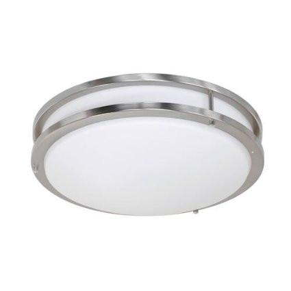 Jesco CM403S-30-CH Contemporary Round Led Ceiling & Ada Wall Mount - JescoStore