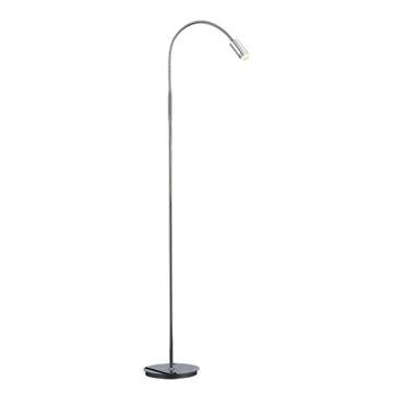 Jesco Lighting FLL910-CH MARIE LED Floor Lamp-With DC Power Supply Cord & Plug - JescoStore