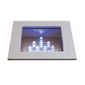 Jesco Lighting HG-RL01B-12V-R LED Recessed Wall Aisle and Step Lights - JescoStore