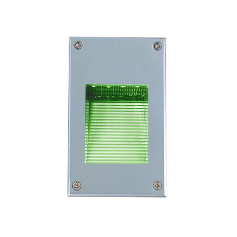 Jesco Lighting HG-ST08M-12V-G LED Recessed Wall Aisle and Step Lights - JescoStore