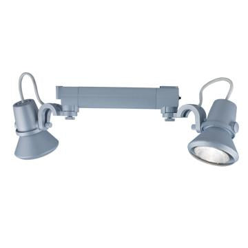 Jesco Lighting HHV904P20-S H-3-Wire Single Circuit Track System Series Line Voltage Track Head - JescoStore