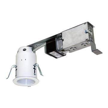 "Jesco Lighting LV3001R 3"" Low Voltage Non-IC Housing for Remodel - Peazz.com"