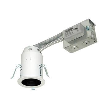 "Jesco Lighting LV3001R-E 3"" Low Voltage Non-IC Housing for Remodel - Peazz.com"