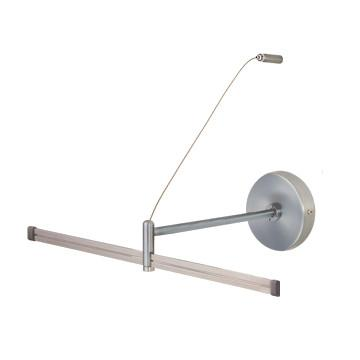 Jesco Lighting MA-WMPF06SN Wall Monorail Power Feed - Peazz.com