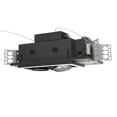 Jesco Lighting MGA175-2EWB Two-Light Double Gimbal Linear Recessed Low Voltage Fixture - Peazz.com