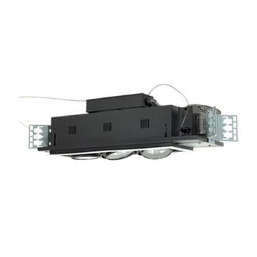 Jesco Lighting MGA175-3EWB Three-Light Double Gimbal Linear Recessed Low Voltage Fixture - Peazz.com