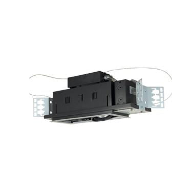 Jesco Lighting MGP20-2SB Two-Light Double Gimbal Linear Recessed Line Voltage Fixture - Peazz.com