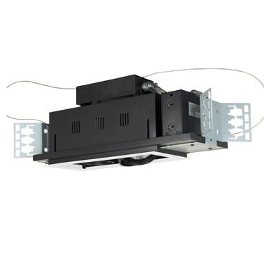 Jesco Lighting MGP20-2WB Two-Light Double Gimbal Linear Recessed Line Voltage Fixture - Peazz.com
