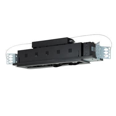 Jesco Lighting MGP20-4SB Four-Light Double Gimbal Linear Recessed Line Voltage Fixture - Peazz.com