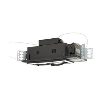 Jesco Lighting MGP30-2WB Two-Light Double Gimbal Linear Recessed Line Voltage Fixture - Peazz.com