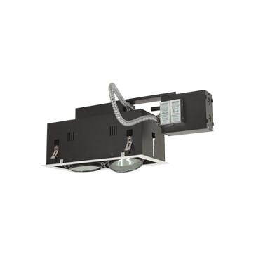 Jesco Lighting MGRA175-2EWB Two-Light Double Gimbal Linear Recessed Fixture Low Voltage - Peazz.com