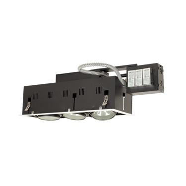 Jesco Lighting MGRA175-3EWB Three-Light Double Gimbal Linear Recessed Fixture Low Voltage - Peazz.com