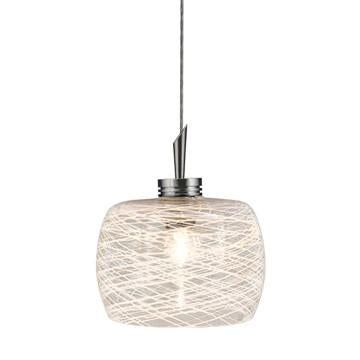 Jesco Lighting QAP114-WHFR/SN QAP114-AIDAN Quick Adapt-Low Voltage Pendant - JescoStore