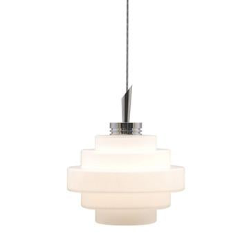 Jesco Lighting QAP121-OM/SN QAP121-GRACE Quick Adapt-Low Voltage Pendant - JescoStore