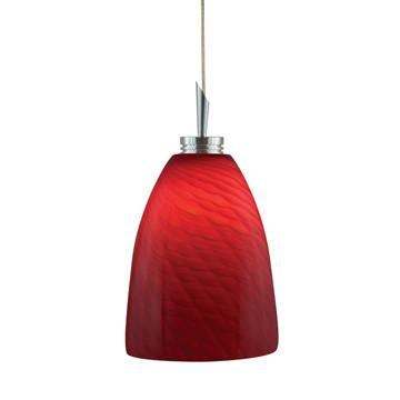Jesco Lighting QAP220-RD/SN QAP220-GOBLET Quick Adapt-Low Voltage Pendant - JescoStore