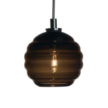 Jesco Lighting QAP752-CC/SN Quick adapt low voltage pendants-Beehave Medium-Hand-blown - JescoStore