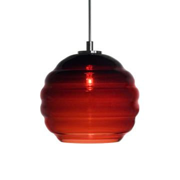 Jesco Lighting QAP753-WN/SN Quick adapt low voltage pendants-Beehave Large-Hand-blown - JescoStore