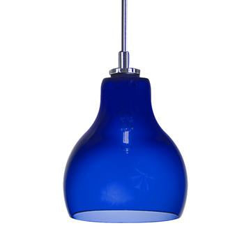 Jesco Lighting QAP772-CB/SN Quick adapt low voltage pendants-Ernie-Hand-blown - JescoStore