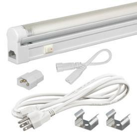 Jesco Lighting SG4A-CPS-8-41-W SLEEK PLUS ADJ 8W 4100K WHITE-3-WIRE 6' POWER CORD - Peazz.com