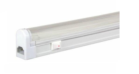 Jesco Lighting SG5-28SW/64 3-Wire Grounded; T5 Sleek Plus-Fluorescent Undercabinet Fixture - Peazz.com
