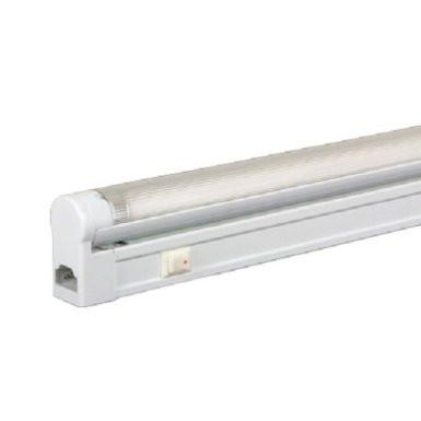 Jesco Lighting SG5-35SW/64 3-Wire Grounded; T5 Sleek Plus-Fluorescent Undercabinet Fixture - Peazz.com