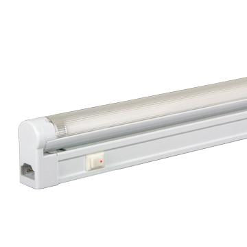 Jesco Lighting SG5A-14SW/64-WH 3-Wire Grounded; Adjustable T5 Sleek Plus-Fluorescent Undercabinet Fixture - JescoStore