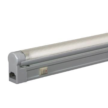 Jesco Lighting SG5A-28SW/30-SV 3-Wire Grounded; Adjustable T5 Sleek Plus-Fluorescent Undercabinet Fixture - Peazz.com