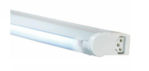 Jesco Lighting SG5A-28SW/30-WH 3-Wire Grounded; Adjustable T5 Sleek Plus-Fluorescent Undercabinet Fixture - Peazz.com