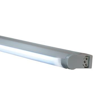 Jesco Lighting SG5A-6/41-SV 3-Wire Grounded; Adjustable T5 Sleek Plus-Fluorescent Undercabinet Fixture - Peazz.com