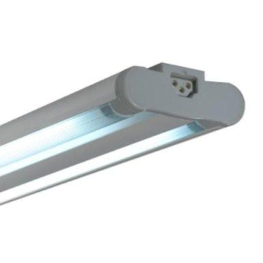 Jesco Lighting SG5AT-14/41-SV 3-Wire Grounded; Twin Adjustable T5 Sleek Plus-Fluorescent Undercabinet Fixture - Peazz.com